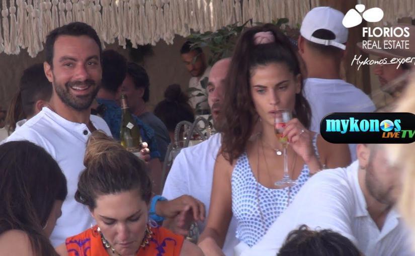 Τανιμανίδης-Μπόμπα: full in love στο χλιδάτο πάρτυ του Τούρκου παραγωγού του Survivor στην Μύκονο