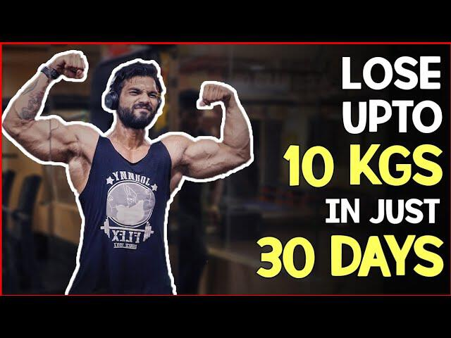 how to lose 10 kg fat in 10 days