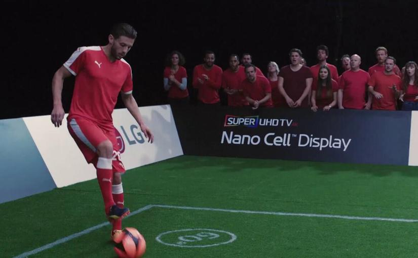 Steven Gerrard vs Adam Lallana in the LG Nano Cell Super Match!!