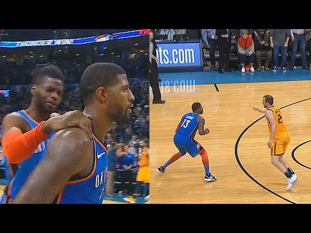 f22c087afb0f0d Paul George Shocks Entire Crowd With Game Winner After Taking Over vs Jazz!  Thunder vs Jazz