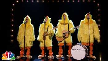 Jimmy Fallon, Alanis Morissette And Meghan Trainor 'Sing' Ironic As Chickens