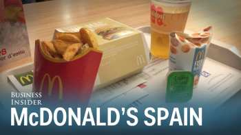 McDonald's In Spain Looks Much Better Than Ours