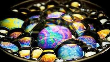 Soap Bubbles Close Up Is Stunning
