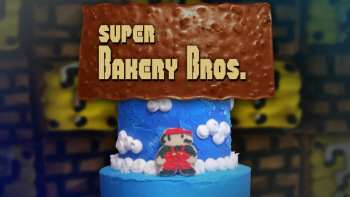 Super Mario Brothers On A Cake