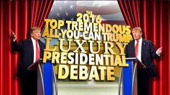 Trump Debates Himself On Late Show With Stephen Colbert