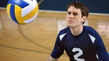 Scott Sterling Dominates On The Volley Ball Court