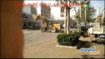 Bulldozer Drivers Battle On The Streets of China