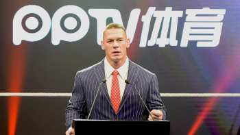 John Cena speaking Mandarin