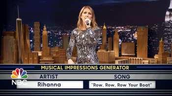 Céline Dion Sings Musical Impressions