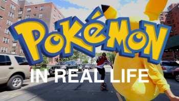 Pokemon Go In Real Life In New York City
