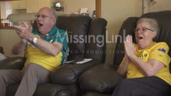 Grandparents Burst With Joy When Grandson Wins Gold Medal In Rio Olympics