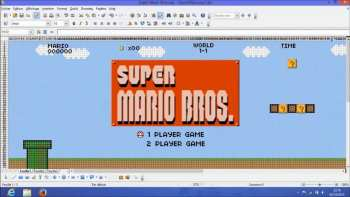 Super Marion Recreated In Microsoft Excel
