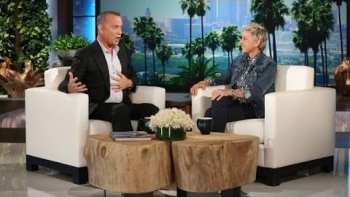 Ellen And Tom Hanks Have A Conversation As Dory And Woody