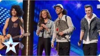 """Luminites Sing """"Hurts So Good"""" On Britain's Got Talent 2013"""