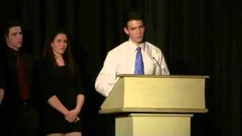 High School Senior Announces He Is Gay At Senior Award Ceremony
