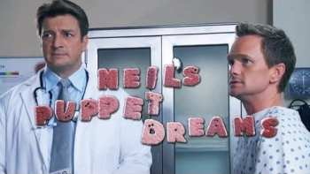 Neil's Puppet Dreams And Nathan Fillion In Doctor's Office
