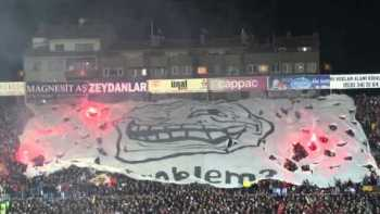 Trolling Turkey Soccer Fans Light Flares In Response To Ban