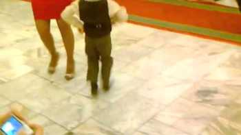 Dancing Boy Steals The Show At Celebration