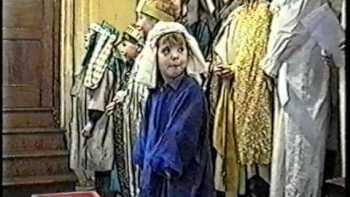 Little Girl Steals The Show At Children's Nativity Scene Presentation