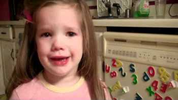 Little Girl Cries Because The Packers Beat The Vikings