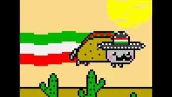 Mexican Nyan Cat