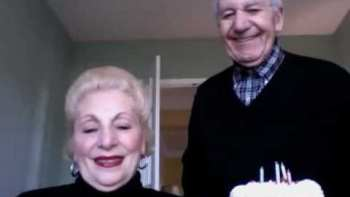 Old Couple Don't Know How To Use Webcam