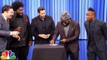 David Blaine Shocks Jimmy Fallon with Magic Tricks