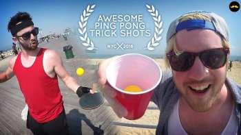 Funny Parody of Ping Pong Trick Shot Videos