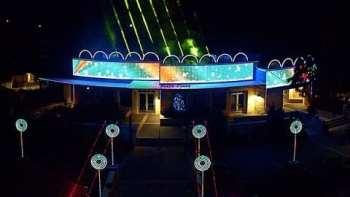 Awesome Dubstep EDM Christmas Light Show