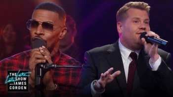 Jamie Foxx And James Corden Sing Famous Public Domain Songs