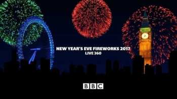 Watch London's Epic 360° New Year's Fireworks