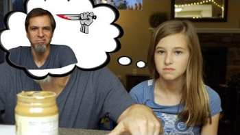 Father Does P&J Sandwiches EXACTLY The Way His Kid's Tell Him To