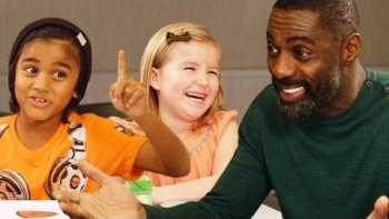 Idris Elba Gets Valentine's Day Advice from Kids