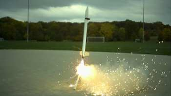 The Slow Mo Guys Are Back With Incredible Footage Of A Rocket's Launch