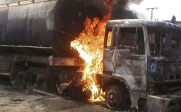 Tragedy gas tanker kills 15 in niger state