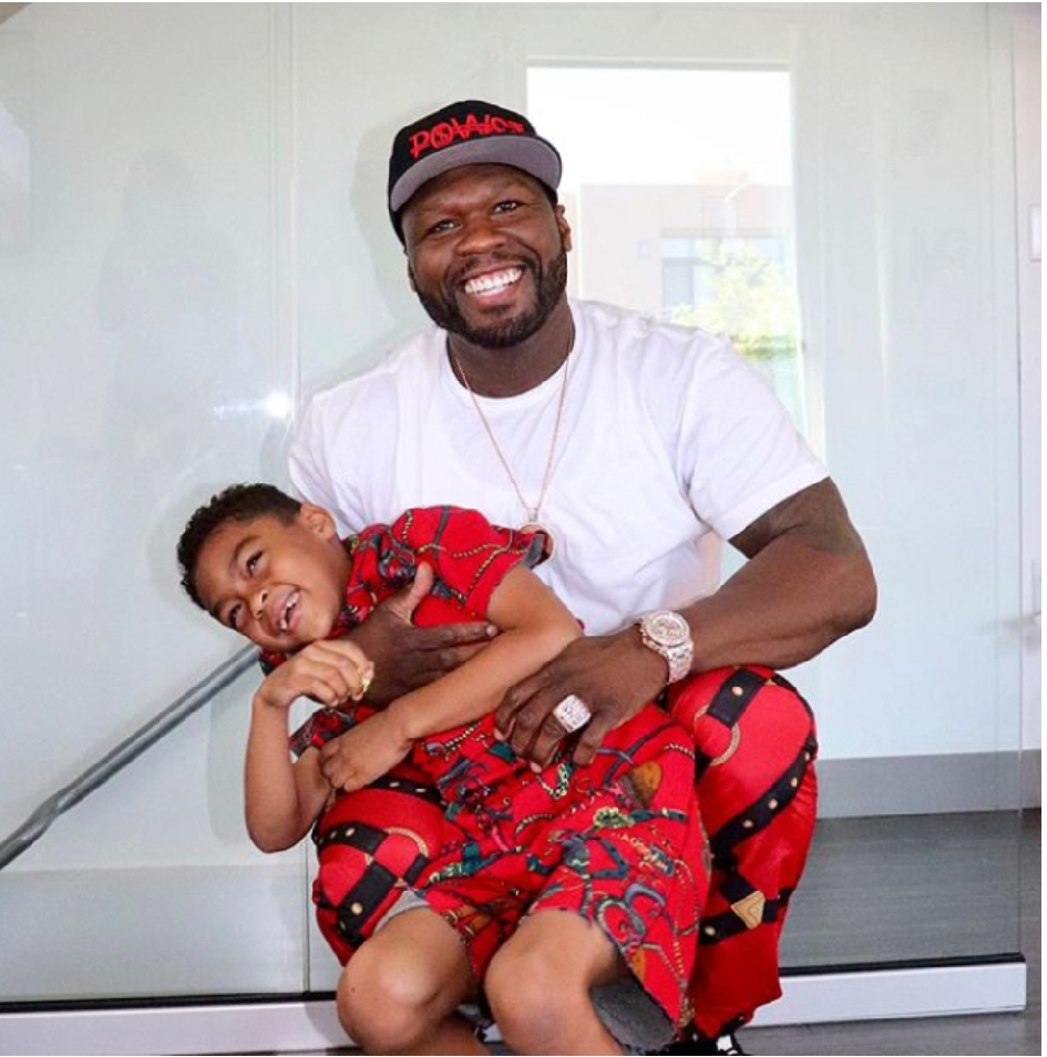 50 Cent Reunite With Ex-Girlfriend Daphne Joy For There Son 7th Birthday