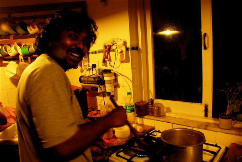 mumbai yemek hazırlığı