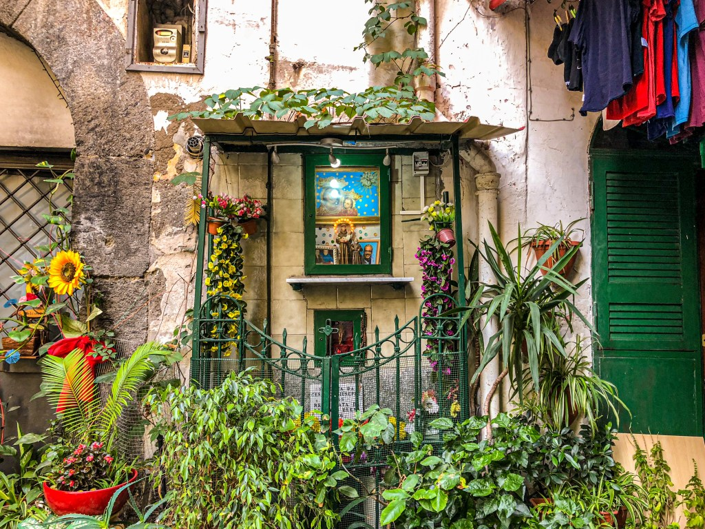 A small chapel in Naples