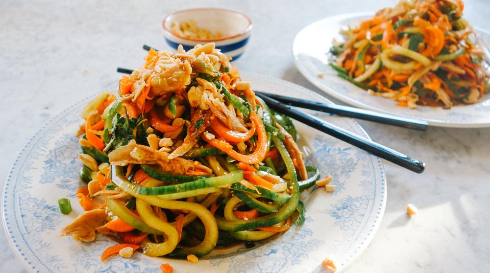 Resultado de imagen para Pad thai con camarones