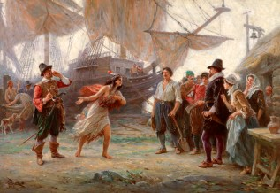 The Abduction of Pocahontas | Virginia Museum of History & Culture The  abduction of Pocahontas