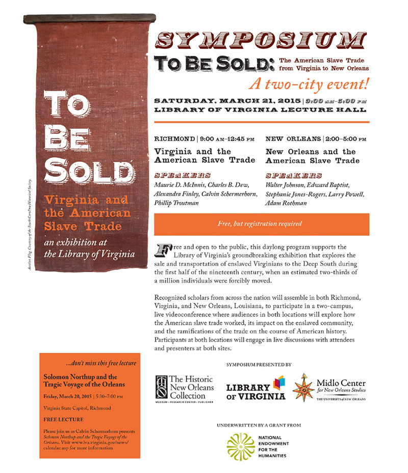 Image of the symposium flyer