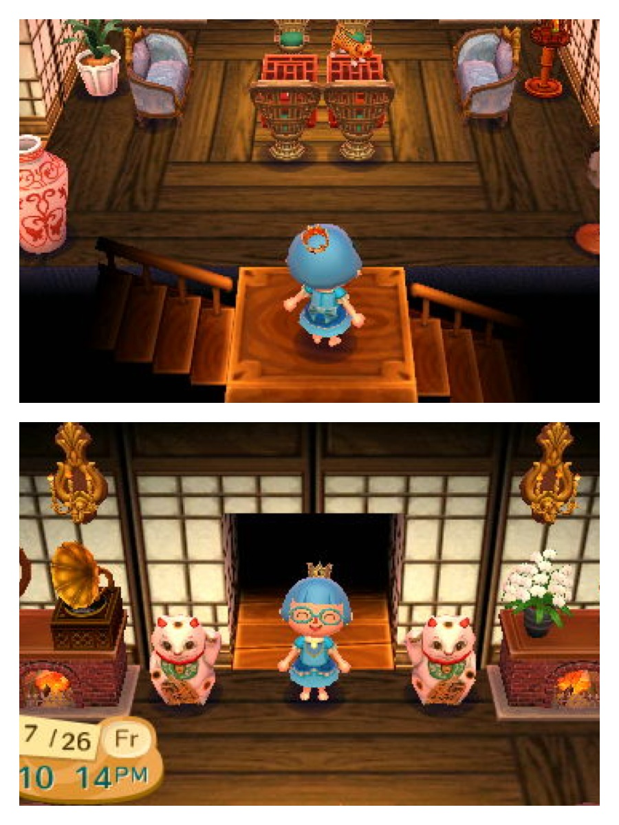 modern house acnl on Animal Crossing Kitchen Counter  id=67642