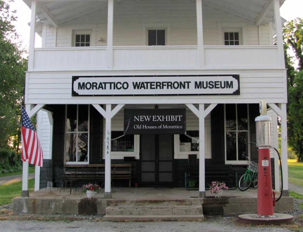 Housed in an 1901 General Store building with an American Indian name and a dedication to the working waterman.  Website: www.morattico.org