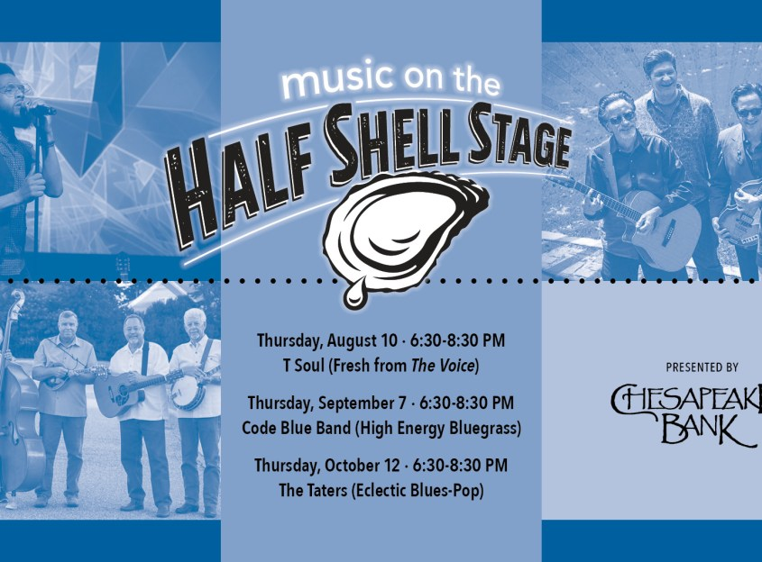 Music on the Half Shell Stage:The Taters - Virginia's River Realm