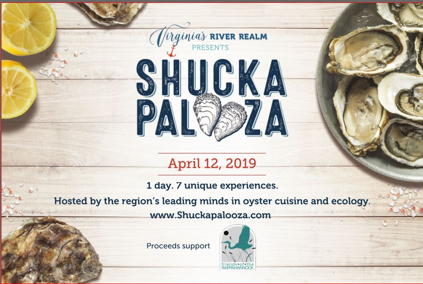 Shuckapalooza! 1 Day. 7 Unique Experiences. 7 Amazing Locations.