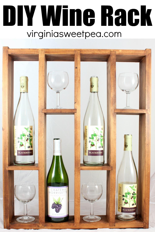 diy wine rack display your favorite