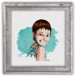 Portrait dessin portrait pour site professionnel