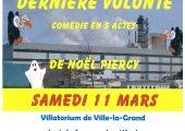 Soirée théâtre à Ville-la-Grand au profit de la lutte contre la mucoviscidose