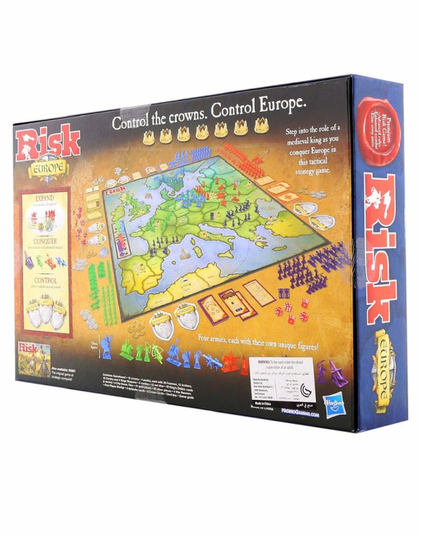 Hasbro Risk Europe Board Game Strategy Games Games