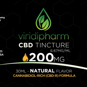CBD tincture 200mg of CBD Broad-Spectrum Hemp